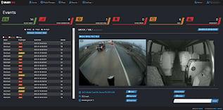 SmartView Screenshot of Video Alerts/Events Dashboard
